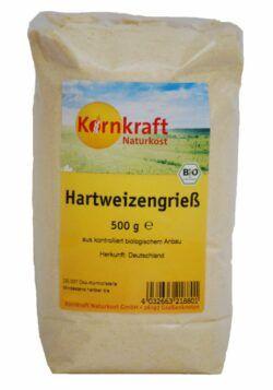 Kornkraft Hartweizengrieß 8x500g