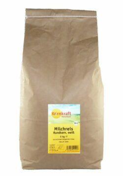 Kornkraft Milchreis Rundkorn weiß 5kg