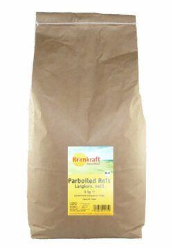 Kornkraft Parboiled Reis, lang, weiß 5kg