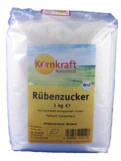 Kornkraft Rübenzucker weiß Bioland 8x1kg