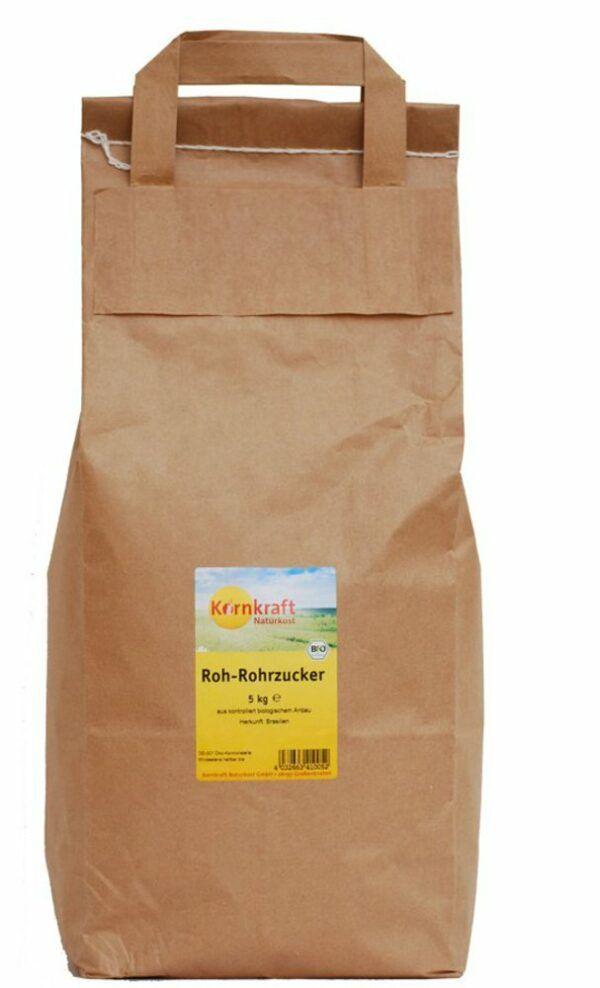 Kornkraft Roh-Rohrzucker 5kg