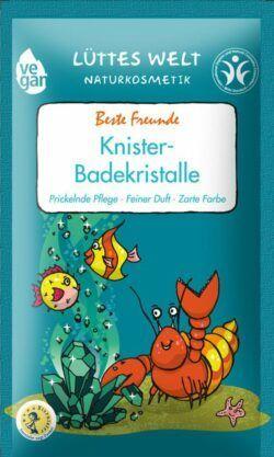 Lüttes Welt Naturkosmetik Knister-Badekristalle