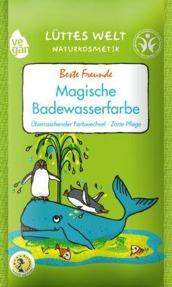Lüttes Welt Naturkosmetik Magische Badewasserfarbe