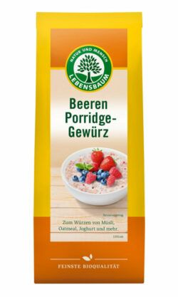 LEBENSBAUM Beeren Porridge-Gewürz 6x50g