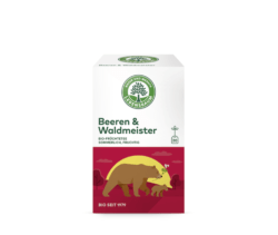 LEBENSBAUM Beeren & Waldmeister 6x40g