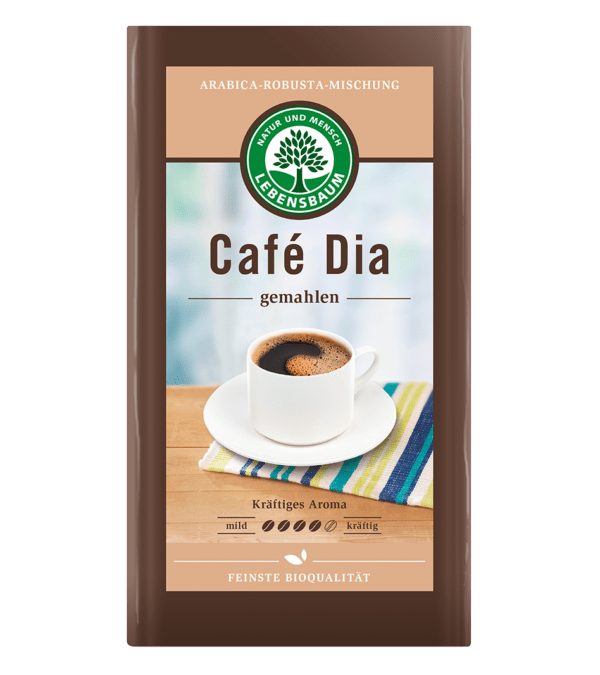 LEBENSBAUM Cafè Dia, gemahlen 12x500g