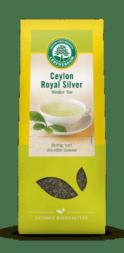 LEBENSBAUM Ceylon Royal Silver, Weißer Tee 6x40g