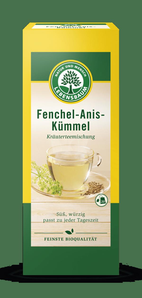 LEBENSBAUM Fenchel-Anis-Kümmel 8x50g