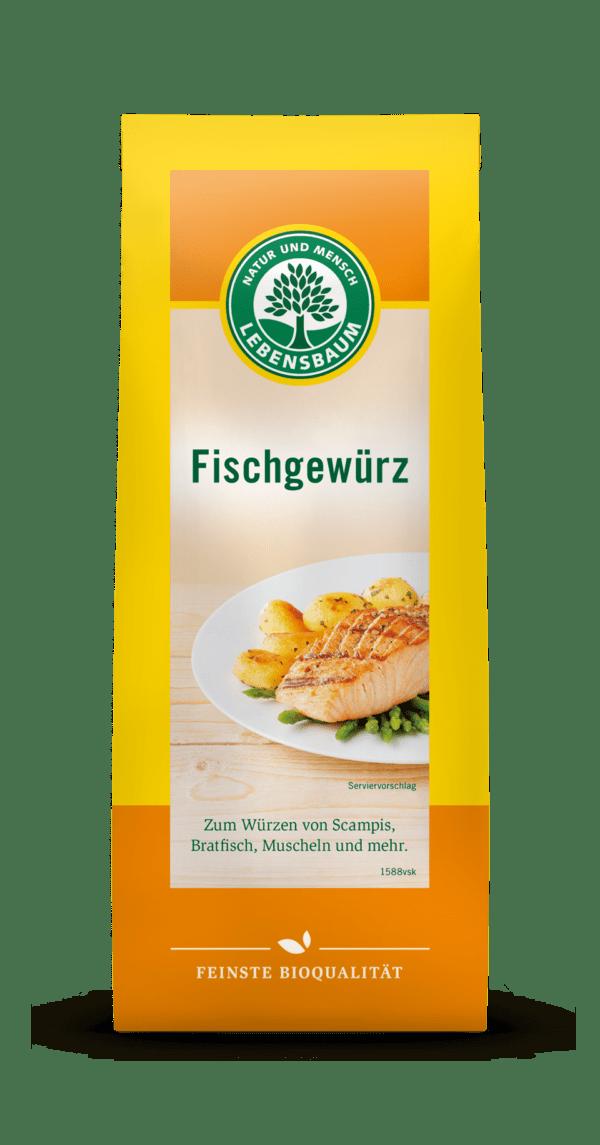 LEBENSBAUM Fischgewürz 6x60g