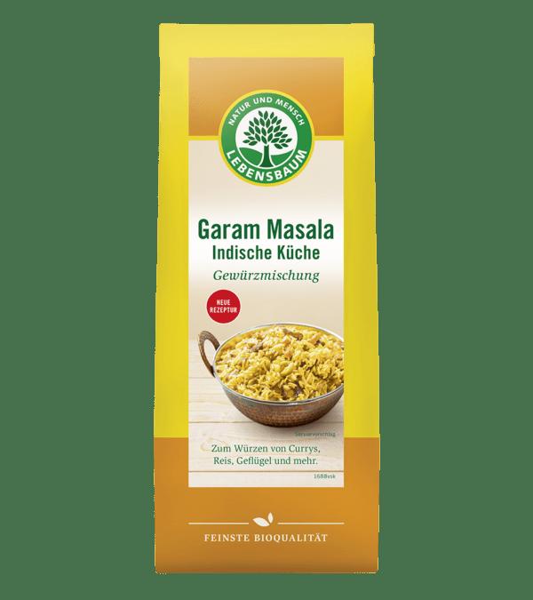 LEBENSBAUM Garam Masala Indische Küche 40g