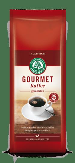 LEBENSBAUM Gourmet Kaffee, klassisch, gemahlen 12x500g