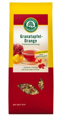 LEBENSBAUM Granatapfel-Orange 6x75g