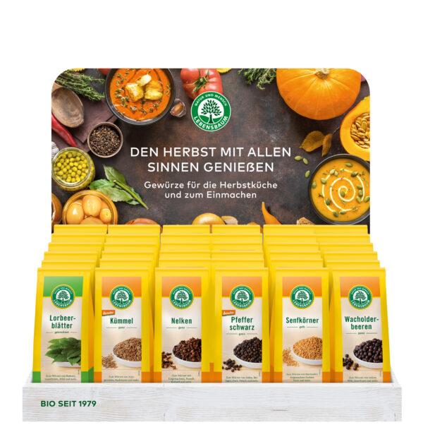 LEBENSBAUM Herbstküchen-Display 36Stück