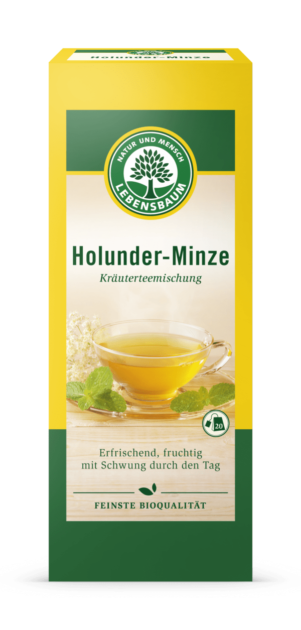 LEBENSBAUM Holunder-Minze 30g