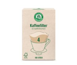 LEBENSBAUM Kaffeefilter Gr. 4 18x100Stück