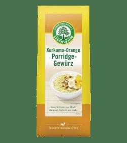 LEBENSBAUM Kurkuma-Orange Porridge-Gewürz 6x50g