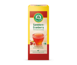 LEBENSBAUM Sanddorn- Cranberry 8x50g
