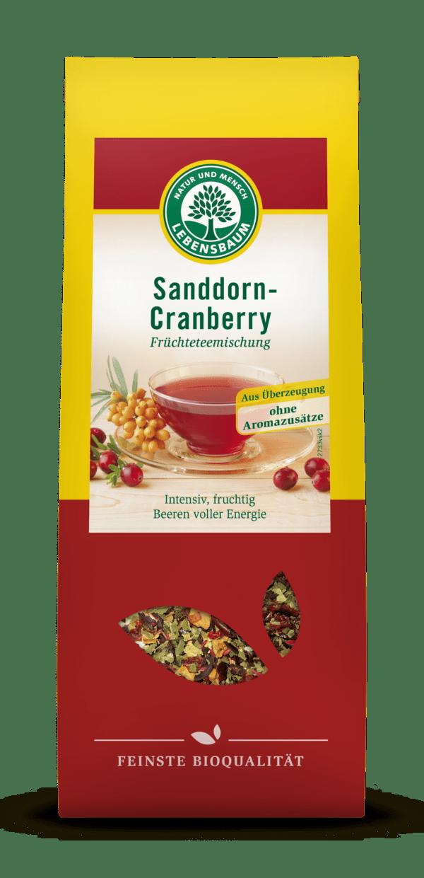 LEBENSBAUM Sanddorn-Cranberry 6x75g