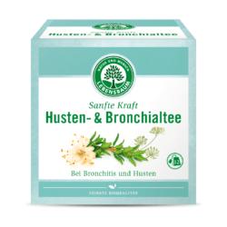 LEBENSBAUM Sanfte Kraft Husten- & Bronchialtee 8x24g