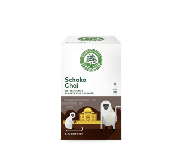 LEBENSBAUM Schoko Chai 6x40g