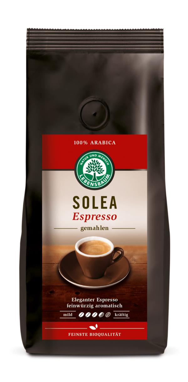 LEBENSBAUM Solea Espresso, gemahlen 250g