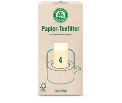 LEBENSBAUM Teefilter Gr. 4 12x100Stück