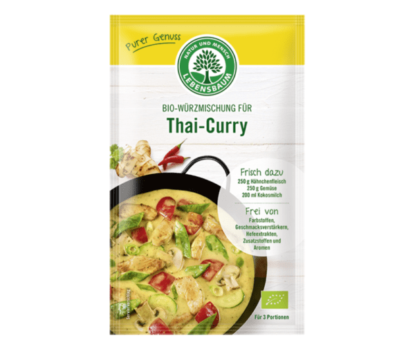 LEBENSBAUM Thai-Curry 10 x 23g