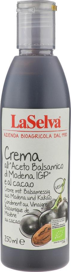 LaSelva Creme mit Balsamessig aus Modena und Kakao - Würzcreme aus Balsamessig 6x250ml