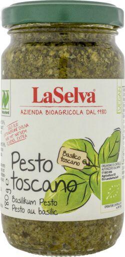 LaSelva Pesto Toscano - Basilikum Würzpaste 6x180g