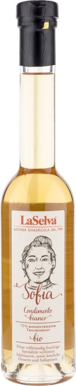 LaSelva Sofia Condimento Bianco - Würze aus Traubenmost und Weißweinessig 250ml