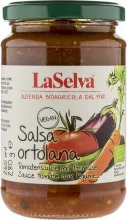 LaSelva Tomatensauce mit Gemüse - Salsa Ortolana 6x280g