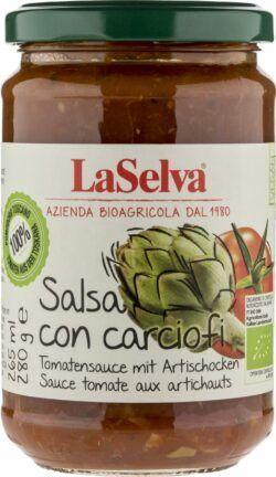 LaSelva Tomatensauce mit Artischocken 6x280g