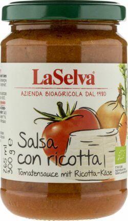 LaSelva Tomatensauce mit Ricotta-Käse 6x300g