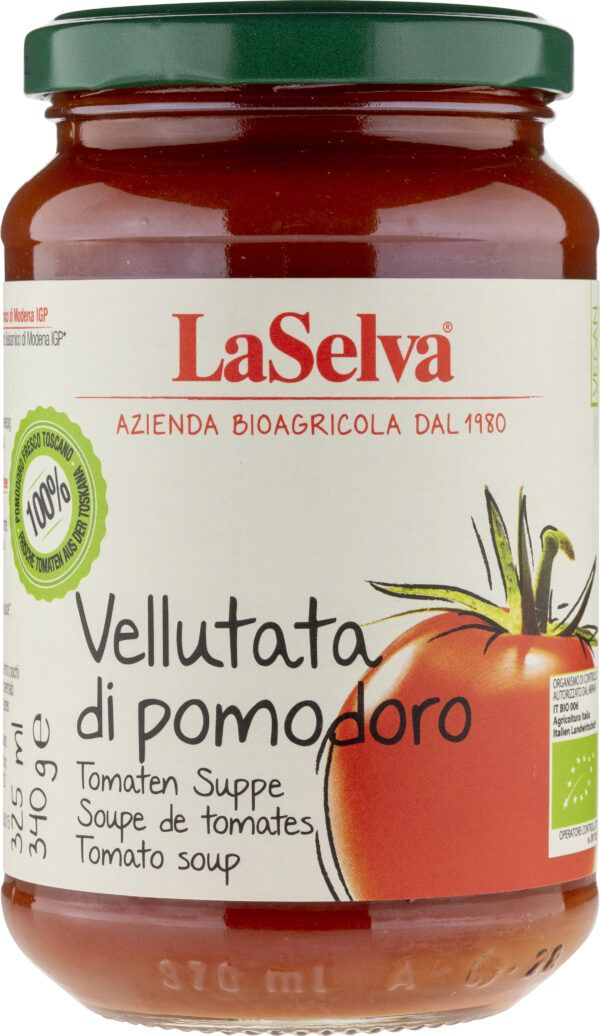 LaSelva Tomatensuppe - mit Balsamessig aus Modena 6x340g