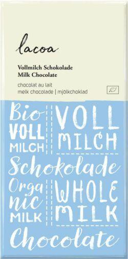 Lacoa Vollmilch Schokolade 10x100g