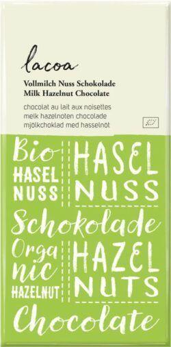Lacoa Vollmilch-Nuss Schokolade 12x80g