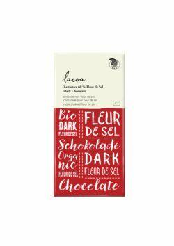 Lacoa Zartbitter mit Fleur de Sel, 60% Cacao 12x80g