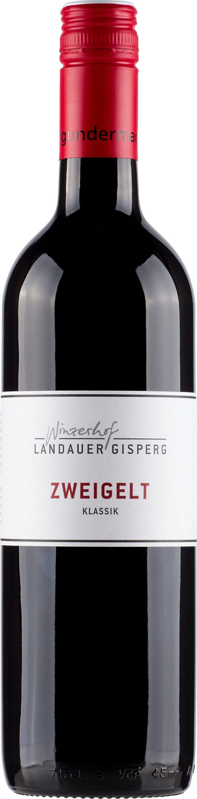 Landauer-Gisperg; Winzerhof Zweigelt Klassik; Landauer-Gisperg 0,75l