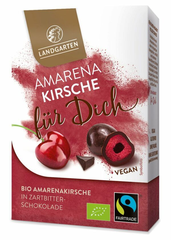 Landgarten Bio FT Amarenakirsche für Dich 5x90g