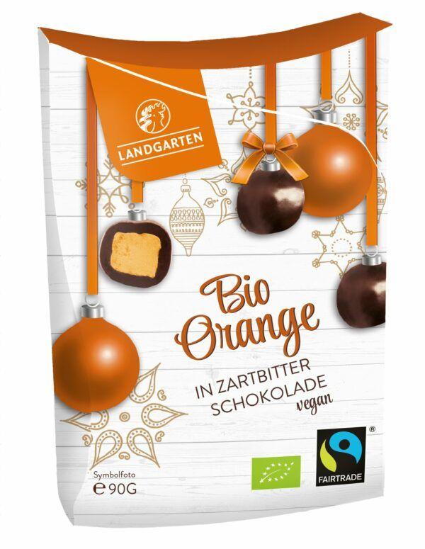 Landgarten Bio FT Orange in Zartbitterschokolade 5x90g
