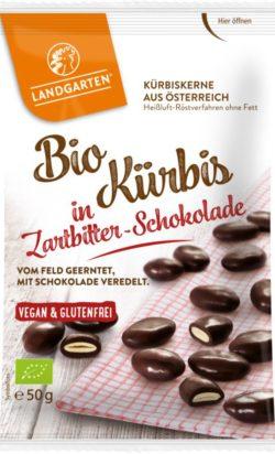 Landgarten Bio Kürbis in Zartbitter-Schokolade 10x50g