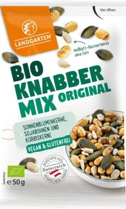 Landgarten Bio Knabber Mix Original 10x50g