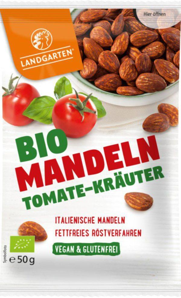 Landgarten Bio Mandeln Tomate-Kräuter 10x50g