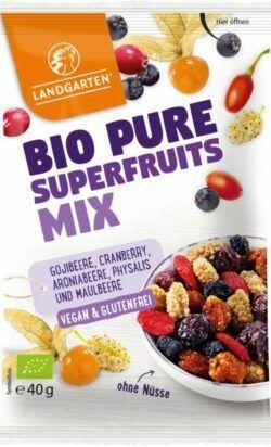 Landgarten Bio Pure Superfruits Mix 10x40g