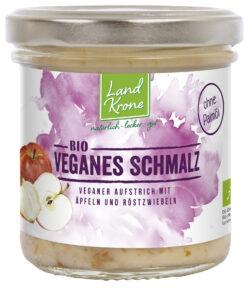 Landkrone Bio Veganes Schmalz ohne Palmöl 6x120g