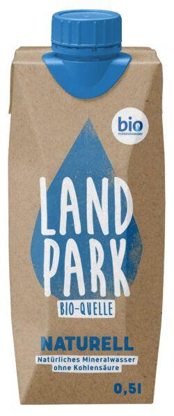 Landpark Bio-Quelle Naturell Tetra Pak 12x0,5l
