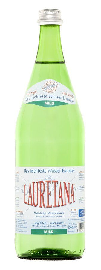Lauretana - Das leichteste Wasser Europas MILD 1l