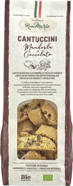 Le delizie di RomiMarie Cantuccini mit Mandeln und Zartbitterschokolade 12x200g
