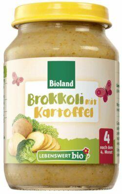 Lebenswert bio Brokkoli mit Kartoffel 6x190g