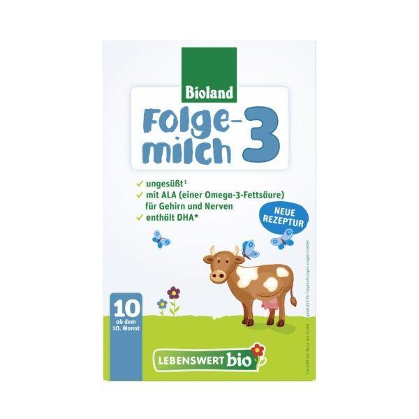 Lebenswert bio Folgemilch 3 5x475g